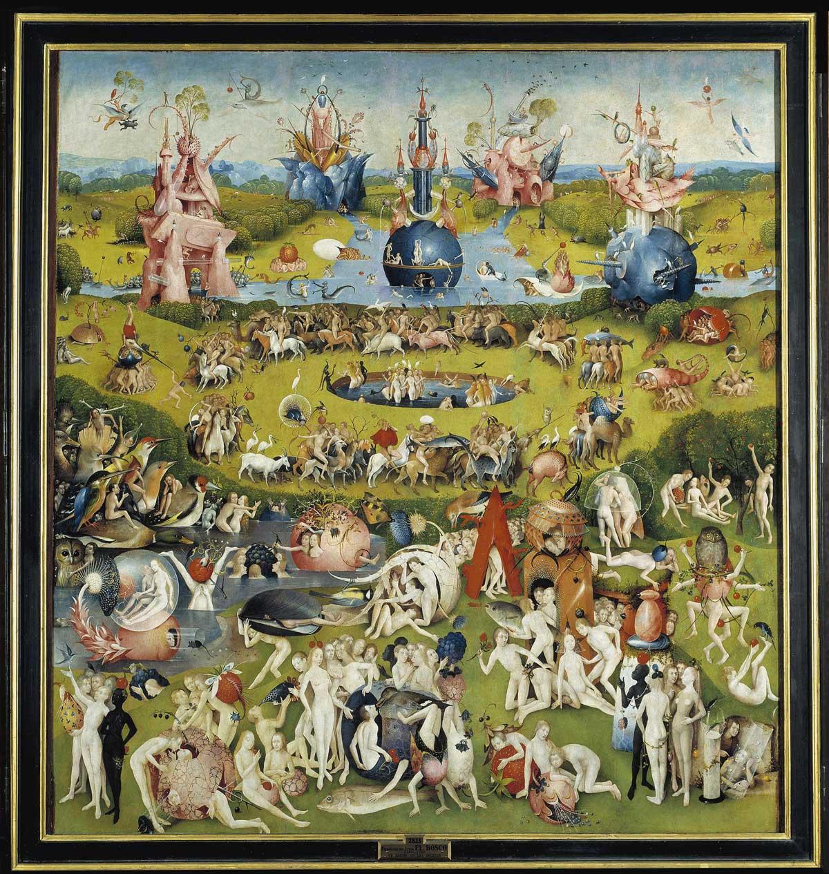 Garten der Lüste, Hieronymus Bosch